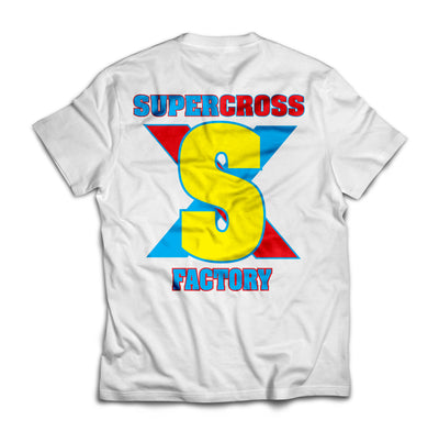 Supercross BMX | Retro Jersey Style T-shirt - Supercross BMX