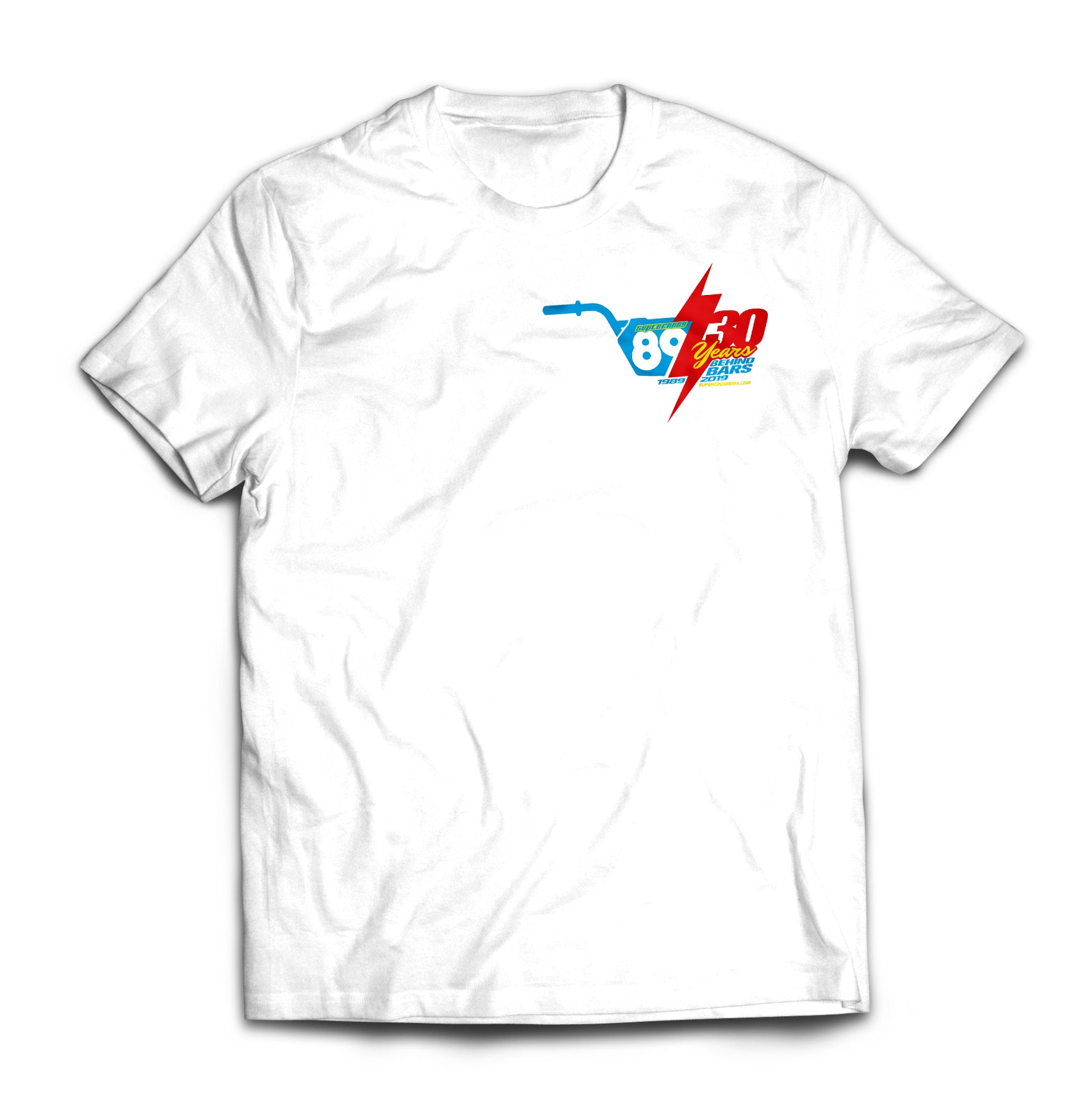 Supercross BMX | Retro Jersey Style T-shirt - Supercross BMX - BMX Racing