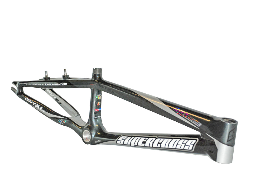 supercross bmx envy blk carbon fiber bmx race frame