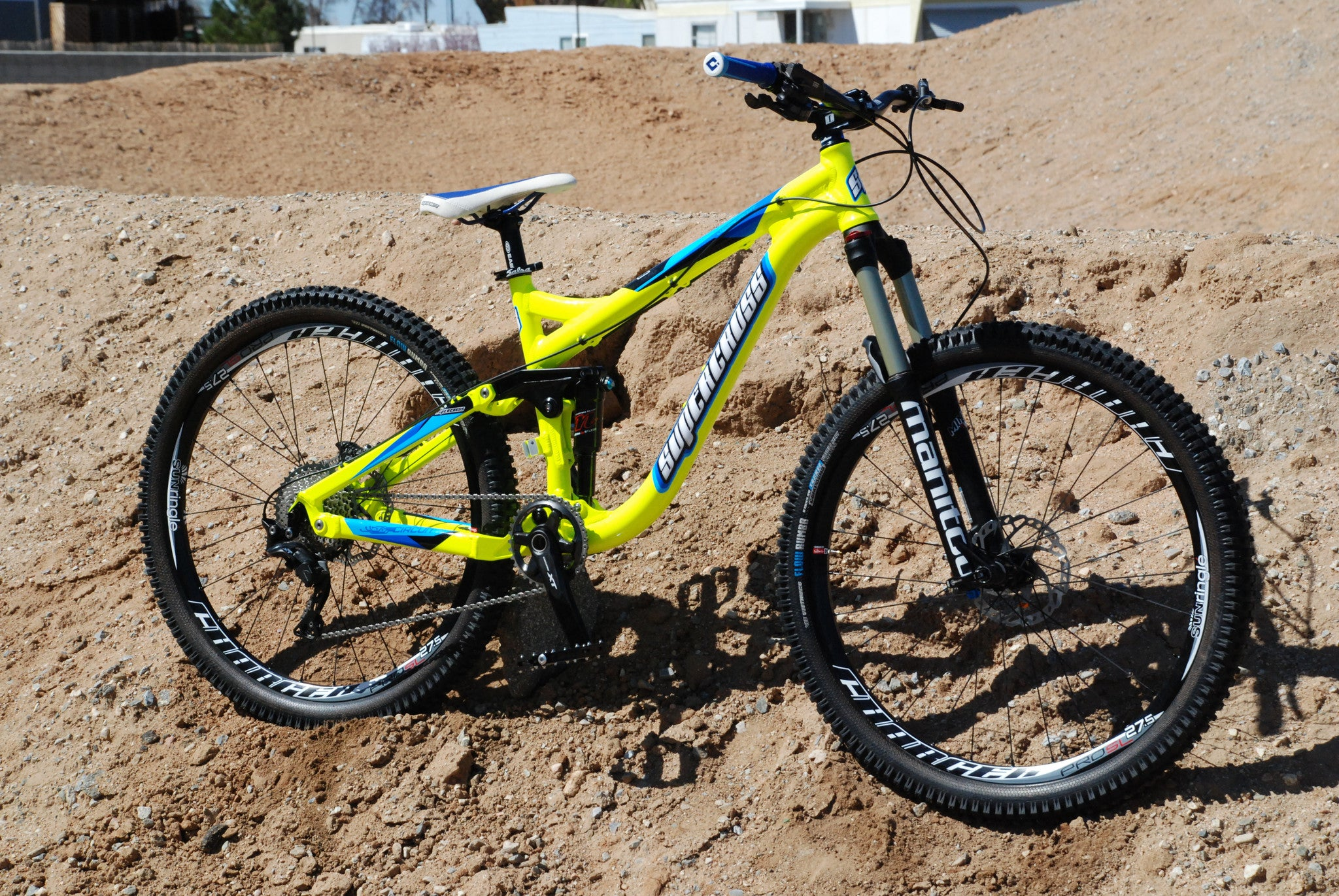 Supercross Circuit Enduro Frame - Supercross BMX