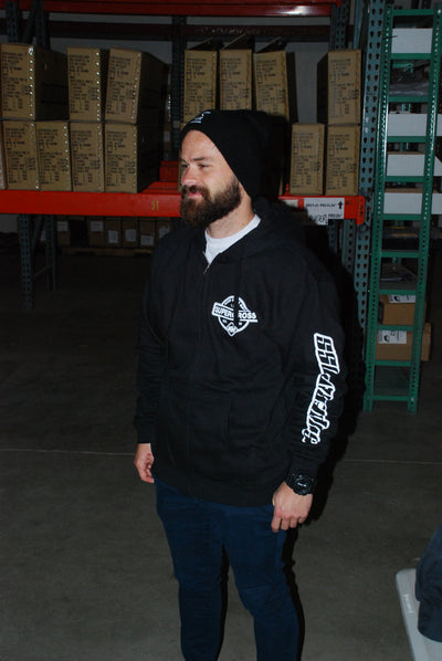 Supercross BMX - Hand Made BMX - Zip Up Hoodie - Supercross BMX