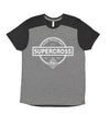 Supercross BMX | Forward Shoulder T - Handmade BMX Logo
