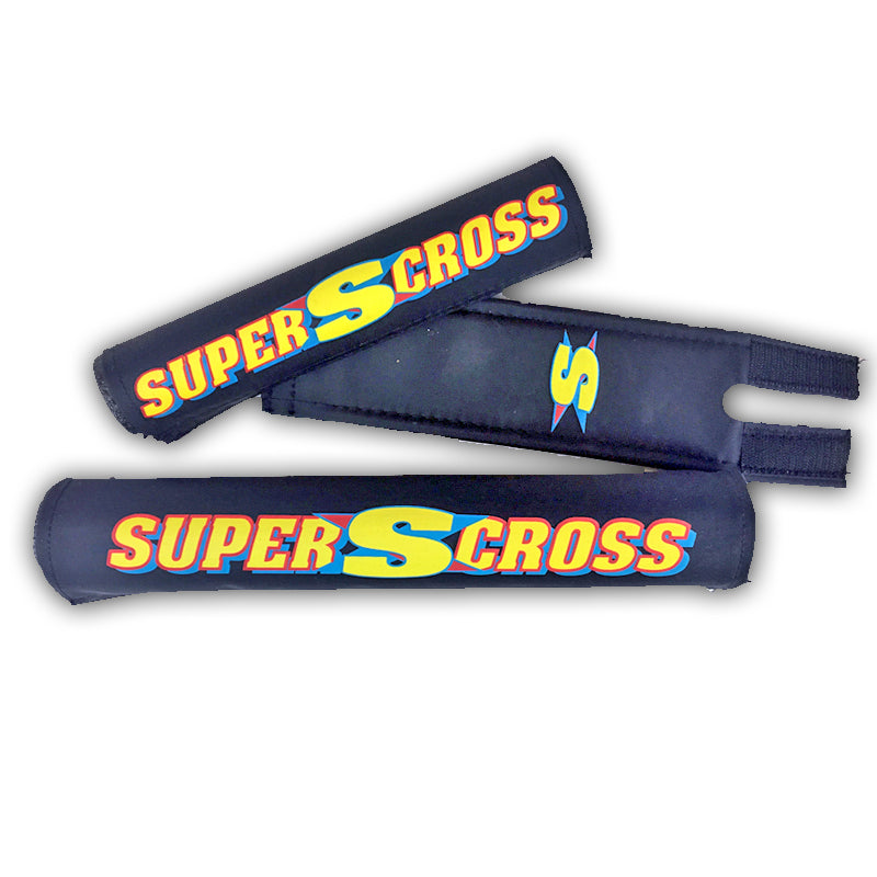 Supercross BMX | SX450 and SX250 Retro BMX Racing Pad Set - Supercross BMX - BMX Racing