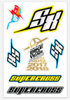 Supercross BMX | Free Handout Logo Decals - Supercross BMX