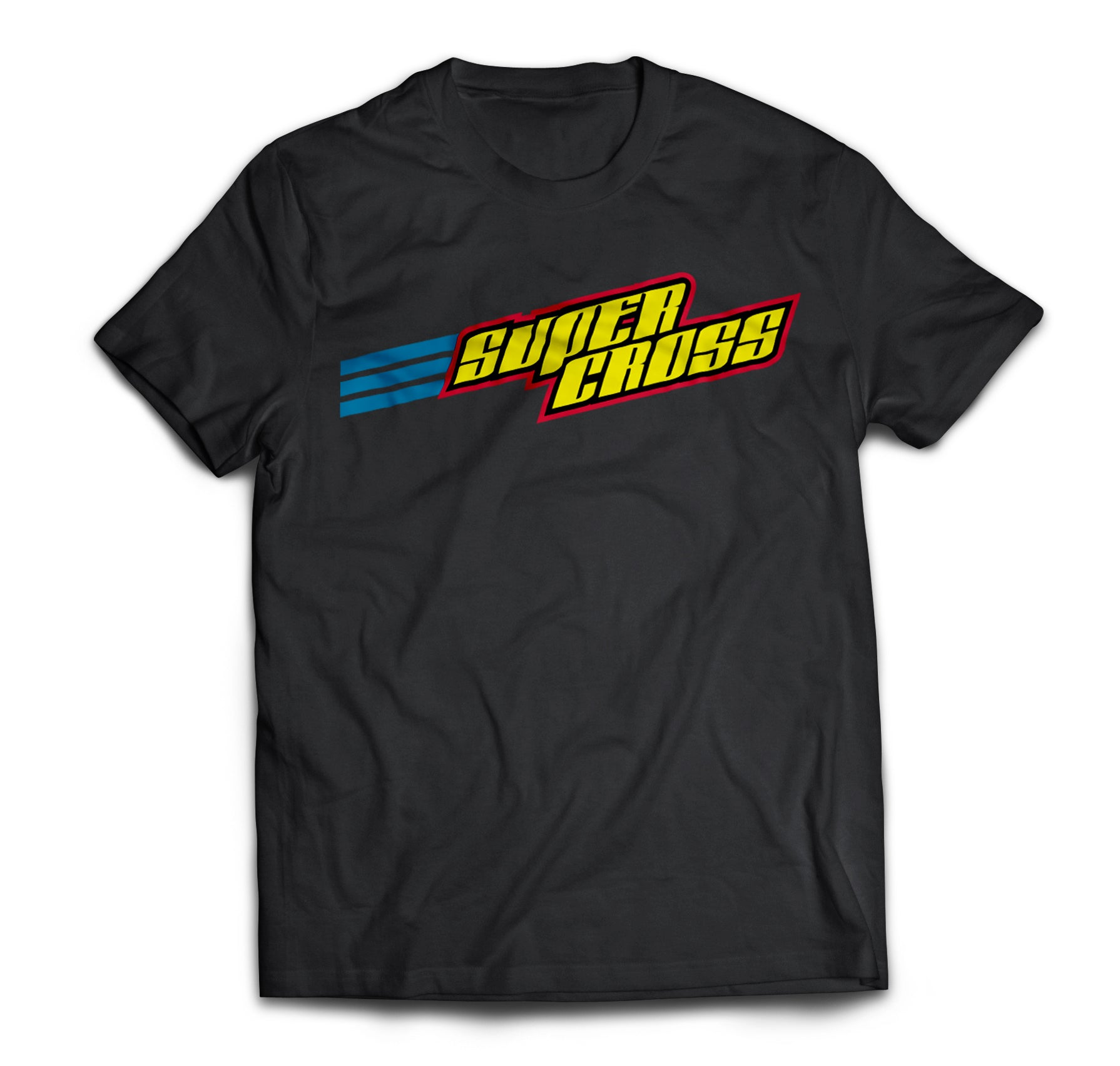 Supercross BMX | Stacked Supercross Logo Shirt - Supercross BMX - BMX Racing