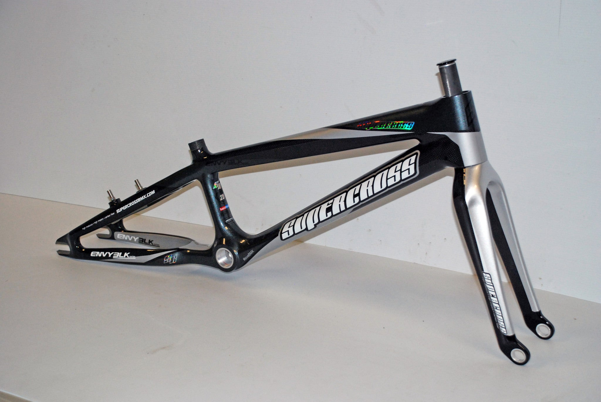 supercross envy blk carbon fiber bmx race frame supercross bmx
