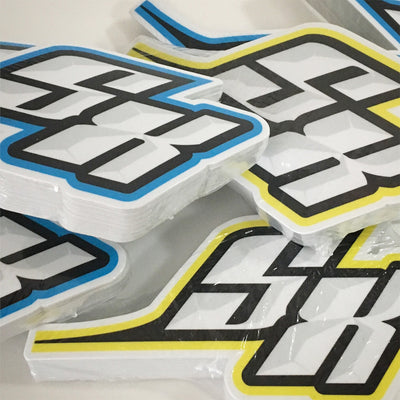 Supercross BMX | SX Swoosh Die Cut Decal - Supercross BMX