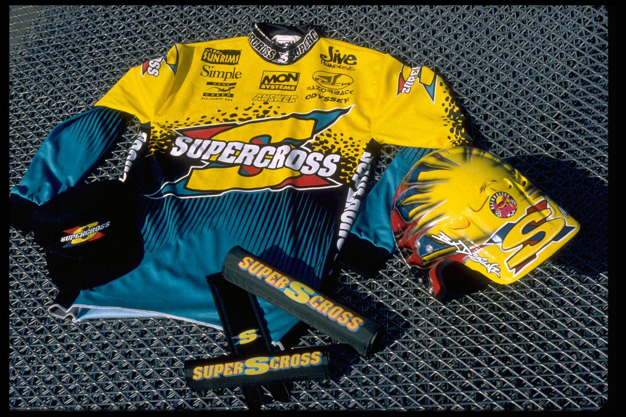 Supercross BMX | 90's BMX Racing Jersey - Supercross BMX - BMX Racing