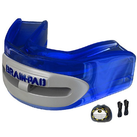 Brain Pad Pro+ Mouthguard Adult Blue