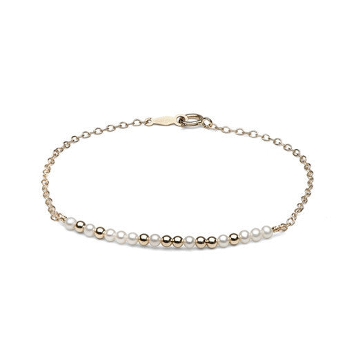 Modern ID Bracelet, 14k Yellow Gold