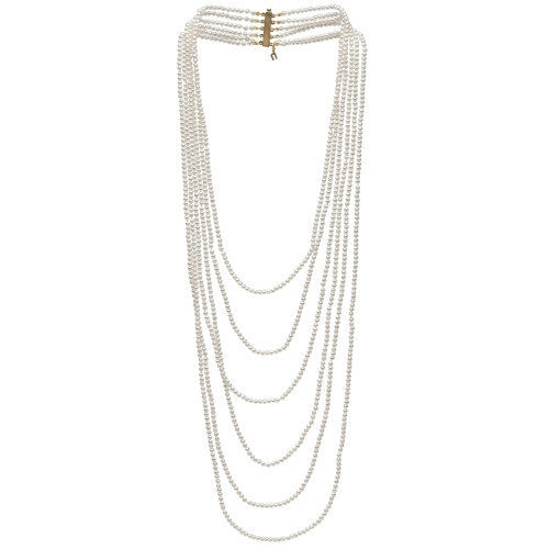 Freshwater Pearl Six Strand Necklace