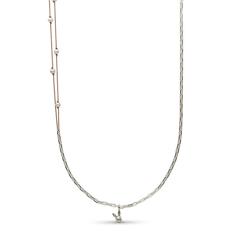 29-inch Pearl Station and Chain Necklace