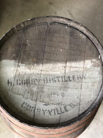 corbyville barrel head at the county cooperage