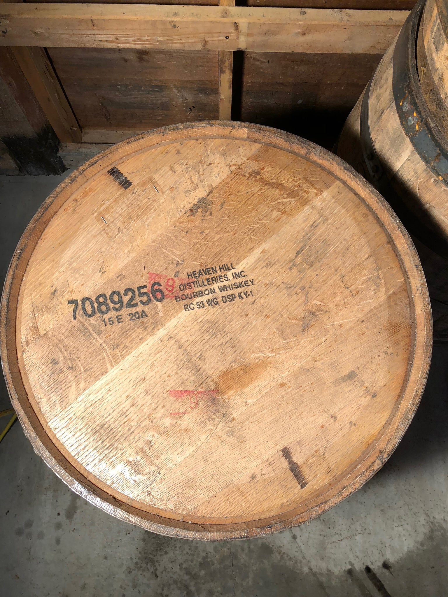 Heaven Hill Bourbon Barrel