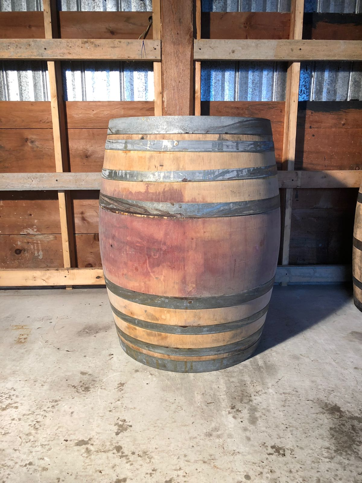 Decorative Wine Barrels