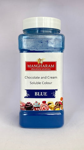 Blue Chocolate Colour  - 100 gms