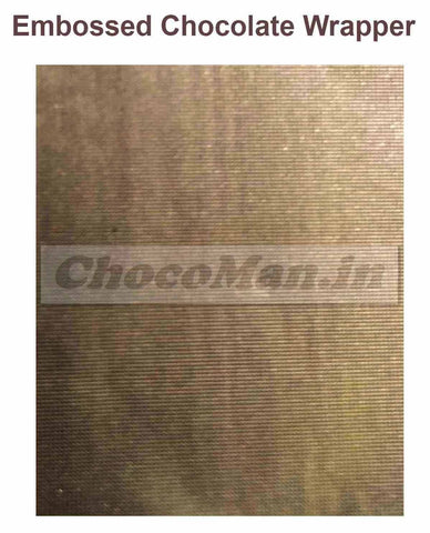 Chocolate Wrapping Foil - E-5, E-4, E-3, (set of 3 Bundles)