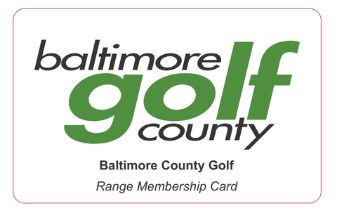 Baltimore County Golf - Driving Range Credit