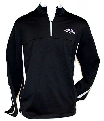 Nike Ravens Therma-Fit Cover Up - Men's Black