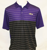 Cutter & Buck Men's Endeavor Stripe Polo - Ravens