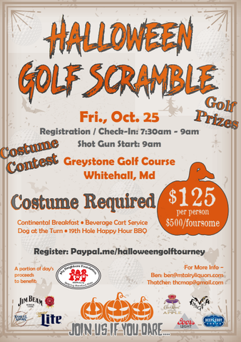 Halloween Golf Scramble