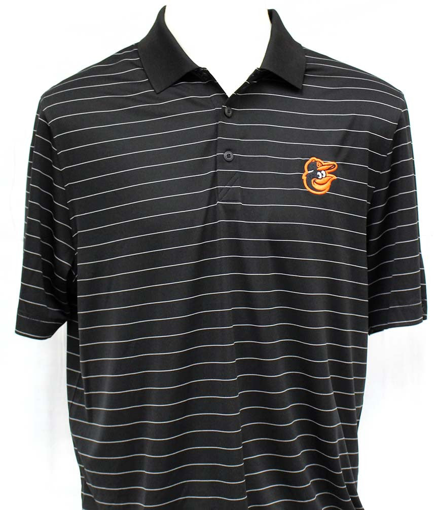 Cutter & Buck Men's DryTec  Franklin Stripe Polo - Orioles