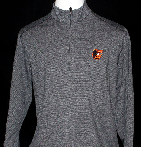 Cutter & Buck Men's Shoreline Half Zip - Orioles