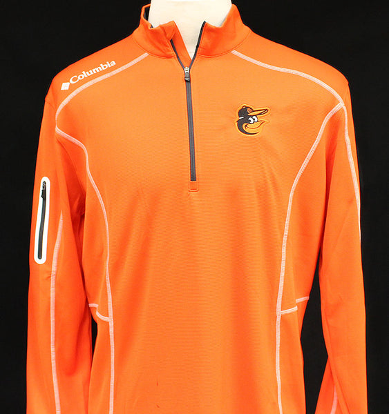 Columbia Men's Omni-Wick Shotgun 1/4 Zip - Orioles