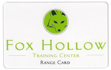 Fox Hollow Range Card