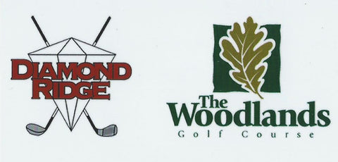 Diamond Ridge / Woodlands Driving Range Card