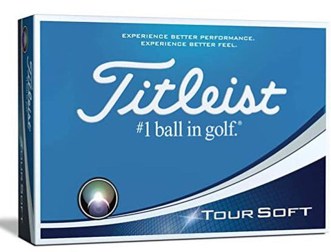2018-2019 Titleist TourSoft Golf Ball Dozen