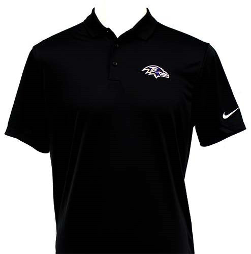 Nike Ravens Victory Polo - Men's Black