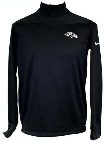 Nike Men's Dri-Fit Half Zip L/S  - Ravens