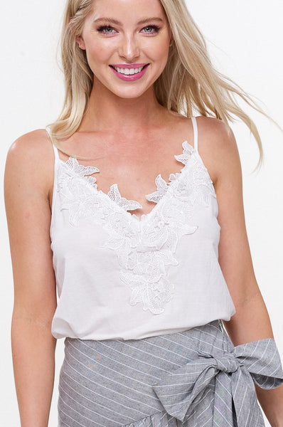 Crochet Patch Cami