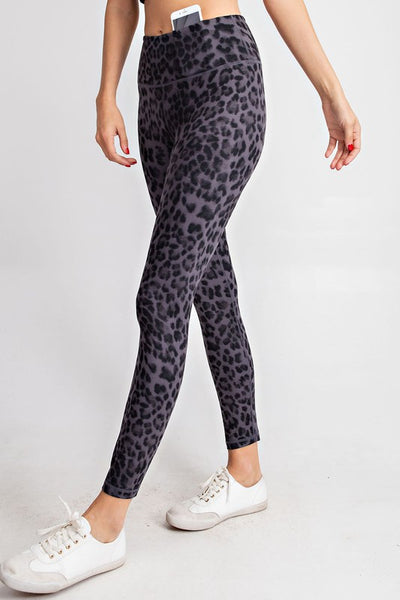 Black Animal Legging