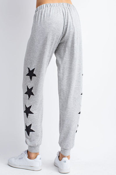 French Terry Star Joggers