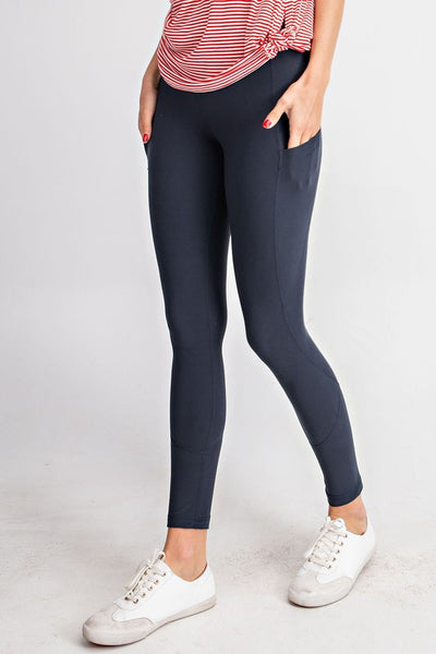 Black Side Pocket Legging