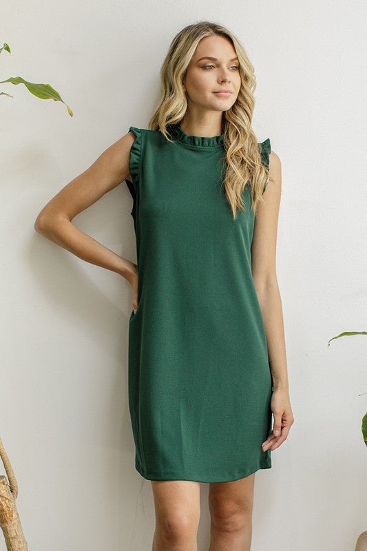 Hunter Ruffle Dress