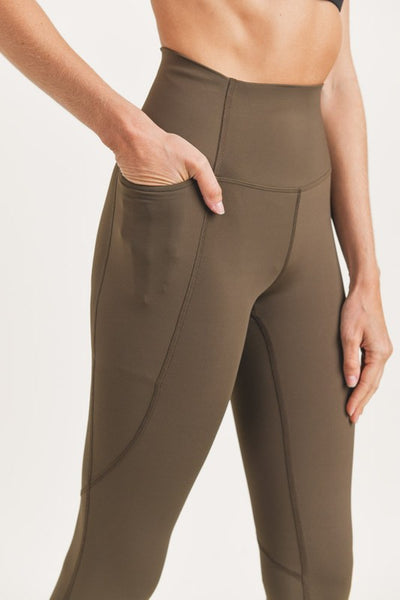 Olive Shaper Leggings