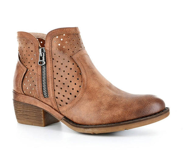 Brown Bismark Bootie
