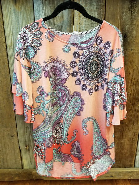 Coral Dreams Top