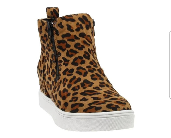 Leopard Hidden Wedge