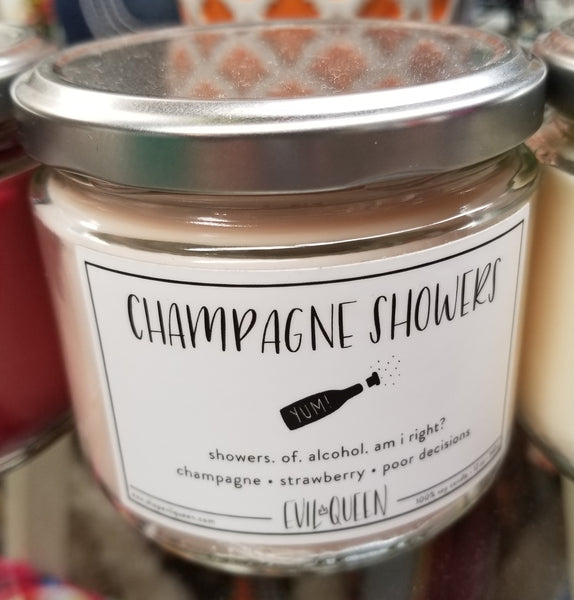 Champagne Showers Candle
