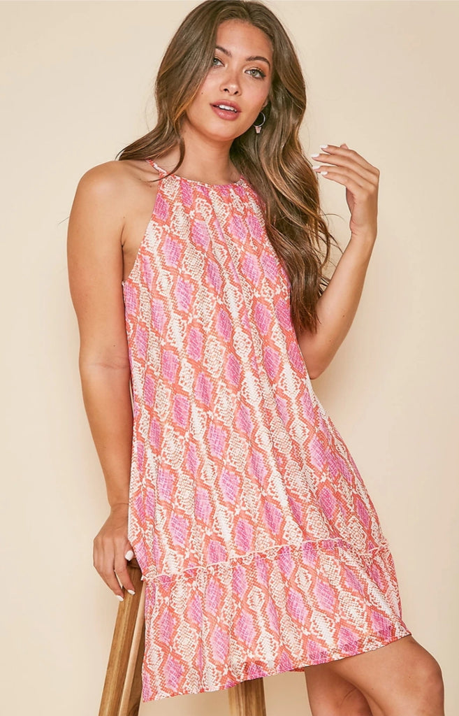 Summer Snakeskin Dress