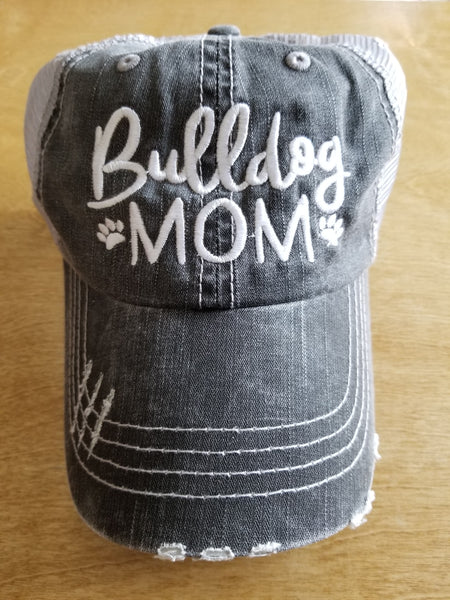 Bulldog Mom Hat