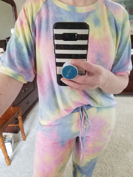 Rainbow Tie-Dye Lounge Set