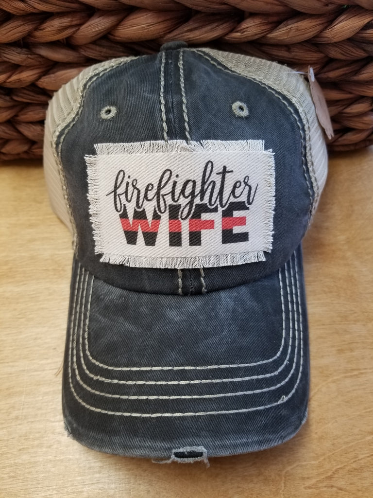 Firefighter Wife Hat