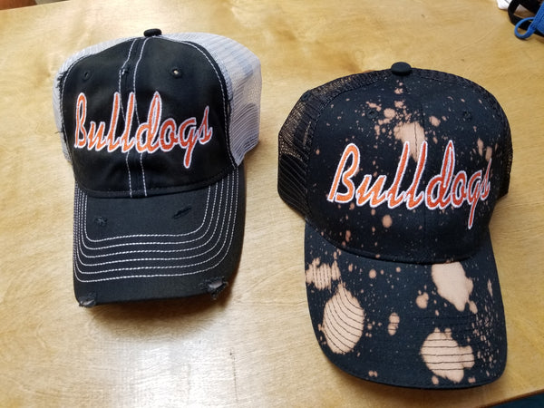 Black Bulldogs Hat