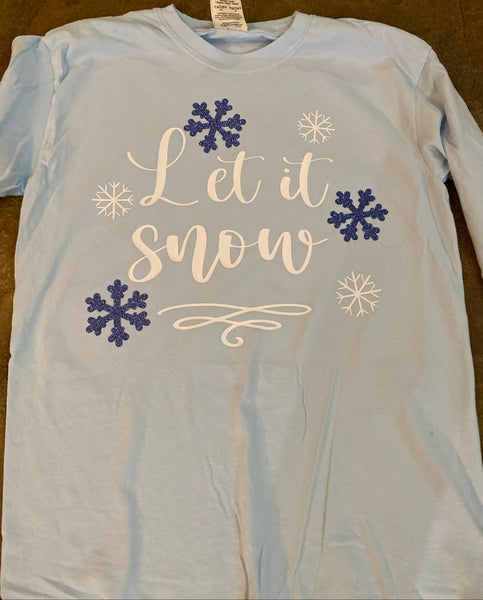 Let it Snow Tee
