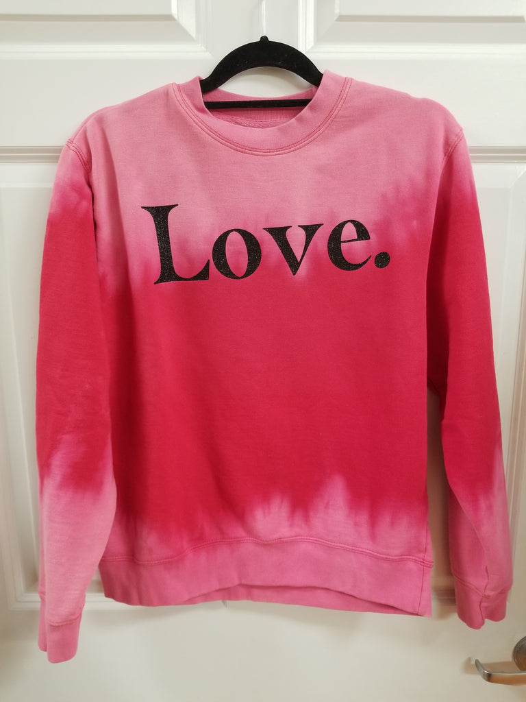 Love Bleached Sweatshirt